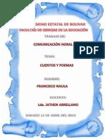 Consulta Cuentos y Poemas Lcda. Arellano