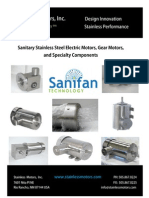 Stainless Steel Electric Motor Manufacturers, Stainless Motors Inc. Catalog