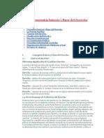 Conceptos Básicos y Fines Del Derecho
