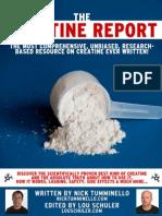 The+Creatine+Report