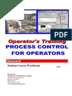 Industrial Process Control for Operators