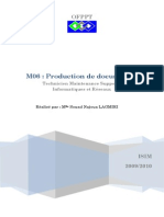 Module 06 Production de Documents Tmsir Ofppt
