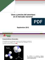 Usos y Precios Del Amoniaco en El Mercado Nacional