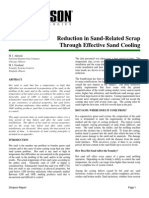 Reduction in Sand Related Scrap