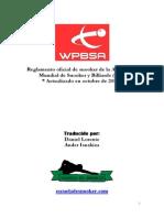 Reglamento Oficial de Snooker en Castellano