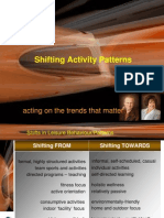Shifting Activity Patterns