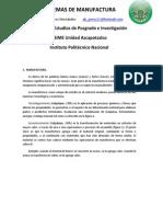 Sistemas de Manufactura2011
