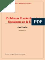 Stalin - Problemas Económicos Del Socialismo en La URSS (1952)