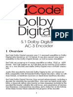 SurCode for Dolby Digital 51 UM