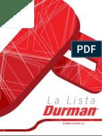 La Lista Durman-Costa Rica 31-01-13 Sp