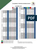 Calendario Epidemiológico 2014