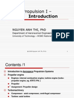 Aircraft Propulsion I - Lecture1