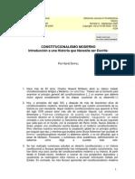 Dippel, Historia Del Constitucionalismo Moderno