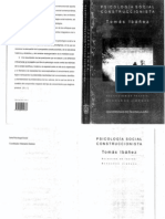 Tomás Ibañez Psicología Social Construccionista
