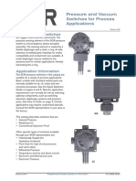 Pressure and Vacuum Switches Cat216