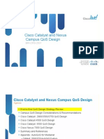 Cisco Catalyst and Nexus Campus Qos Design
