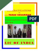 Mdrt 2010- Congratulations