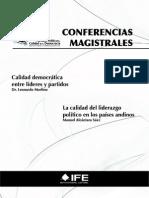 Conferencias Magistrales - L. Morlino y M. Alcántara Sáez