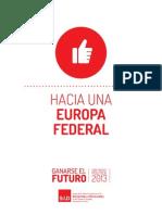 Hacia una Europa Federal (PSOE)
