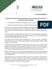 22-05-14 021 BOLETIN - Plantea Acosta Gutiérrez Sistema Nacional de información del estatus jurídico de la tenencia de la tierra en México