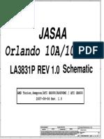 Toshiba Satelite P200D (Compal LA-3831P JASAA) Laptop