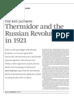 Russia 1921- Trotsky and Lenin, Termidor y La Degeneración (2010)
