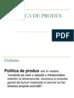 07 Politica de Produs
