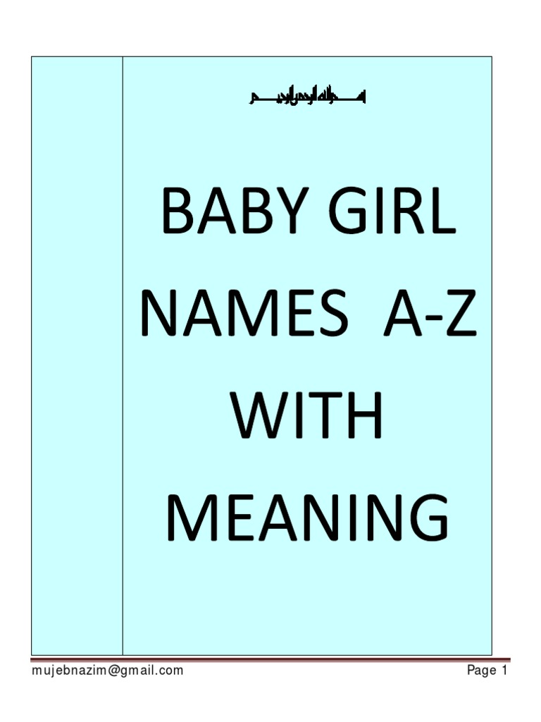 baby girl names with meaning muhammad sahabah