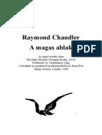 Raymond Chandler A magas ablak