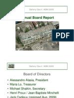 AGM 2009-Board Report