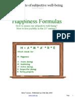 Fórmulas Da Felicidade - eBook