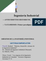 Evolución Historica de la Ingenieria Industrial