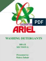 Ariel advertising
