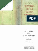 Historia de La Iglesia Cristiana (Williston Walker)