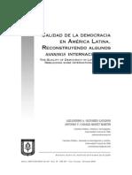 Calidad de La Democracia en América Latina, Construyendo... - Alejandro a. Olivares