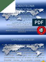 Bases Para Una Mercadotecnia Exportadora e Importadora