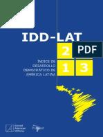Indice de Desarrollo Democratico de America Latina 2013