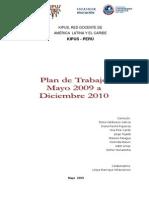 Plan de Trabajo KIpus Perú 26jun2009 2010