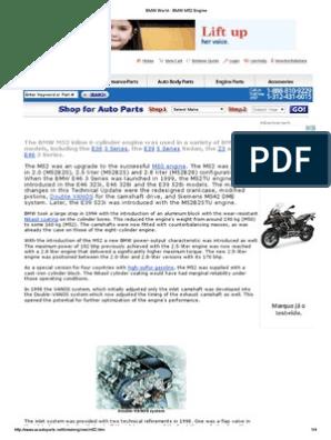 BMW World - BMW M52 Engine | Cylinder (Engine) | Engines