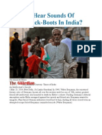 Can You Hear Sounds of Fascist Jack-Boots in India