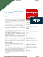 a01 - Seminario - Programação Orientada a Objetos
