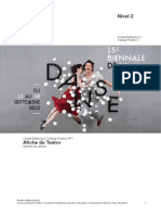 Teatro Apunte Afiche 2014