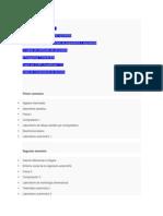 Plan de Estudios en Ingeniería Mecánica Automotriz