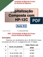 Aula 2 - Juros Composto Na HP 12C