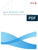 Manual Xerox WC 3550