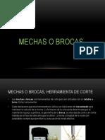 Mechas Brocas_materiales Diferentes