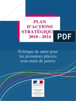Plan Strategique 2010 2013 Prise en Charge Personnes Placees Sous Main de Justice