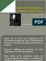 El Concepto de Ideología en Mijail Bajtin