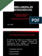 CAPECO Regimen Laboral