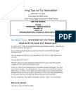 Teaching Tips to Try Newsletter November 15, 2009